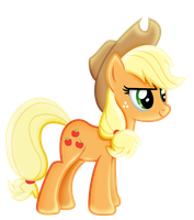 Applejack-and stay back! by illumnious