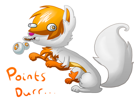 GET FREE POINTS FROM THE POINTS WOOF! by Zoiby