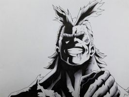 All Might!!! Boku no Hero Academia by HOGG377