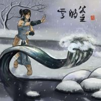 Korra alone by AnkeLive