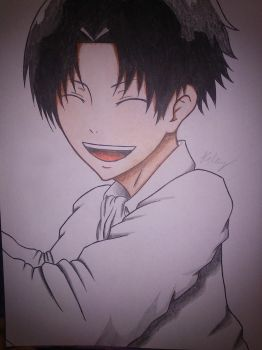 RIVAILLE~ HE SMILES ? by haru4lavi
