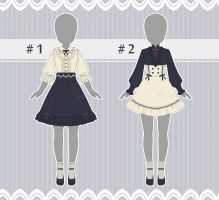 [CLOSED] Outfit Adopts : 4 (AUCTION) by P7-Adopt