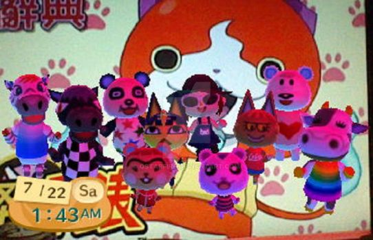 Animal Crossing New Leaf~My Villagers [Incomplete] by qstarfire