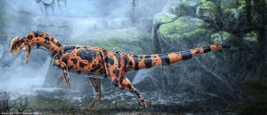 Dilophosaurus Wetherilli Restored by TheDragonofDoom