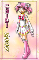 Sailor Chibi Moon by Pearlypuff