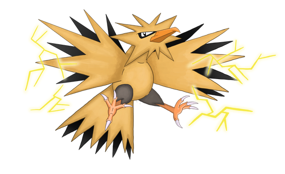 145 - Zapdos by Artygal