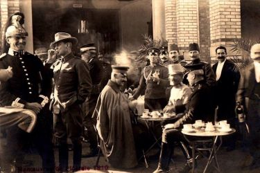 Ataturk at  Les manoeuvres Picardie by Arkhass