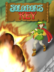 Solomon's Key: Custom Game Cover by popfan95b