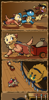 PMD . Party Preparations p2 by Hawkein