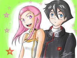 anemone and dominic by Junystudios
