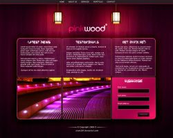 pink wood by aram287