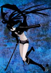 Black Rock Shooter-BRS by DrawingisLife92