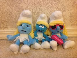 My cute Smurfette dolls by Prince5s