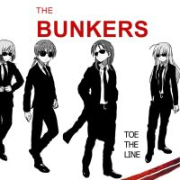 The Bunkers: Toe The Line by Ozoneknight