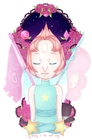 Steven Universe - Pearl / Strong in the real way by MinEevee