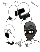 Hope and Hunter face Update by DiduNasty850