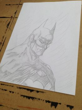 Batman Pencil Work  by 97NightKnight