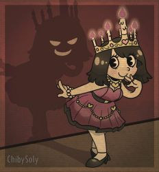 Candle Queen by ChibySoly
