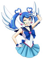 VRAINS: Sailor Blue Angel by tanitak