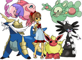 Flora Reinhold - Pokemon Team