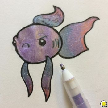 Betta fish by indifferencedesign