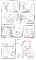Oblivious Sonic =w= by Adelicorn