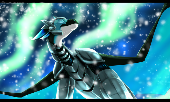 YCH comm: Northern Lights by Natsuakai