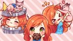 [+Video] Commission - Alice Biscuit Emotes by Hyanna-Natsu