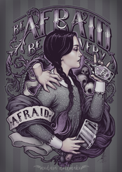 Be Afraid by Medusa-Dollmaker