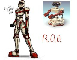 Project SMASH - R.O.B. by Krowjak