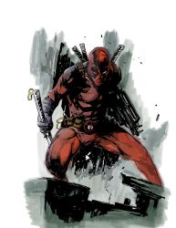 Deadpool by greenjaygraphic
