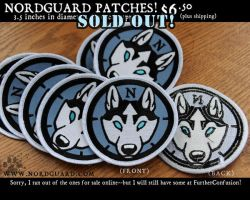 Nordguard Patches by screwbald