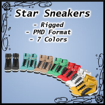 Star Sneakers DOWNLOAD by Reseliee