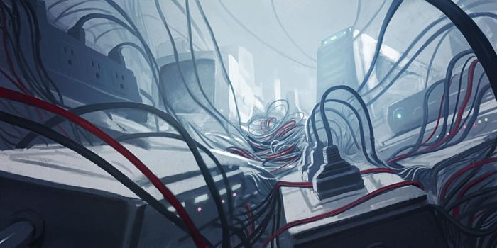 Cable-Topia by JeiWo