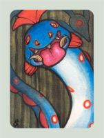 Huntail ACEO