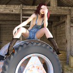 Country Girl by boggo2300