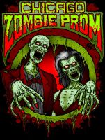 Chicago Zombie Prom 2011 Art by SavageSinister