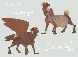 [CAELI AUCTION] Gratitude Day Closed. by ImperfectEnthusiast