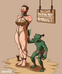 Goblin Auction - Featuring Karyn Strongblood by Skelebomb