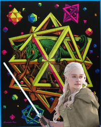 Danaerys Targaryen could  the force be with you by AlmaChiaraAlex