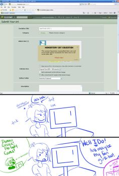 Greece is the troll of Deviantart on April Fools by ImMixyAndImBlue