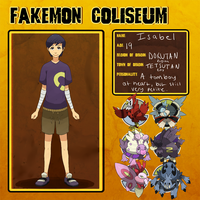 Fakmon Coliseum : Isabel by TRspicy