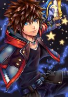 Sora (Kingdom Hearts III) by VII-Magician