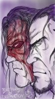 undertaker and Kane  by ChristianKage