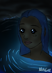Mermaid in a Cave by Natalie02