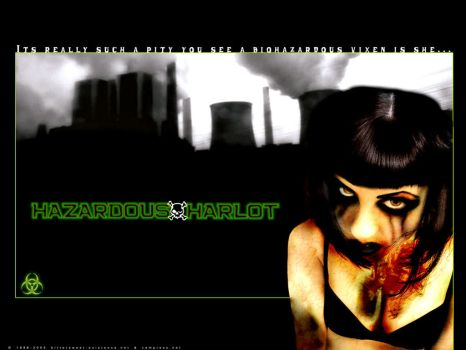 Hazardous Harlot - Wallpaper by ransim
