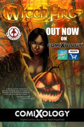 Witchfire Halloween Comixology promo 2015 by MMHudson