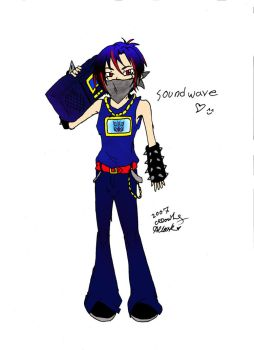 Human Soundwave by Ashurie