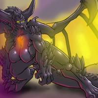 MonsterGirls: Nergigante by LeftHand-Black