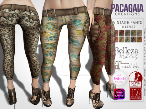 Vintage Pants Ad by LainePacagaia